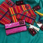 Make Up Bag Junkie Colorful